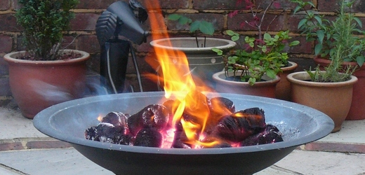 wood briquettes for firepits