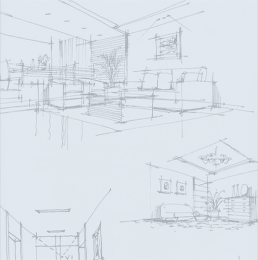 Bespoke joinery sketch ideas