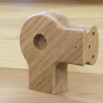 walnut handrail corner piece (cropped)